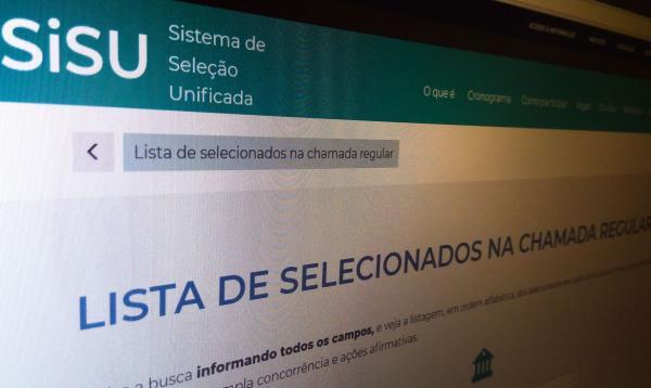 Sisu: Terminam hoje os prazos para matrículas na primeira convocação