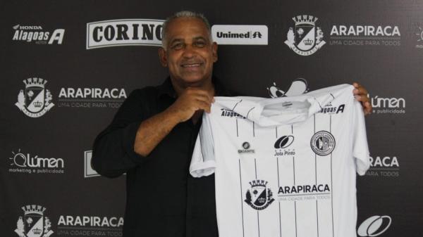 Diretoria do ASA confirma Ademir Fonseca para a Série D