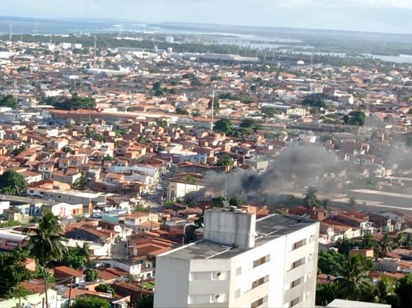 Moradores da Levada fazem protesto contra a truculência policial, diz PM
