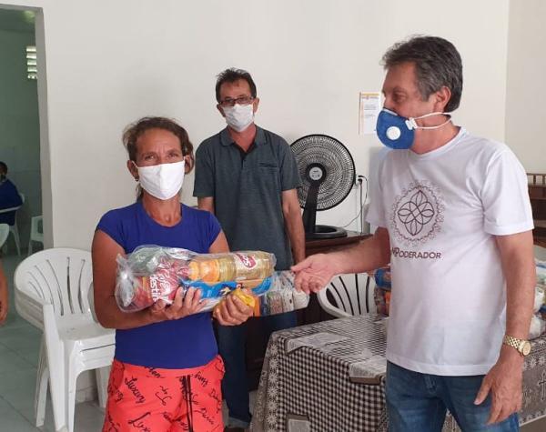 Ação solidária do Ministério Público distribui 190 cestas básicas para comunidades carentes de Arapiraca