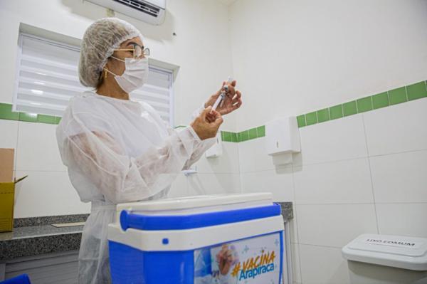 Alagoas tem déficit de mais de 14 mil doses para completar 2ª dose da vacinação
