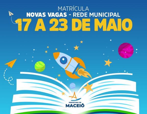 Educação de Maceió abre matrícula para 4.500 novas vagas remanescentes