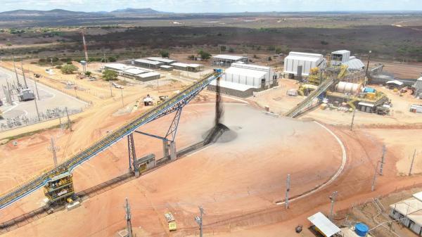 Mina em Craíbas produzirá 50 mil toneladas de cobre por ano