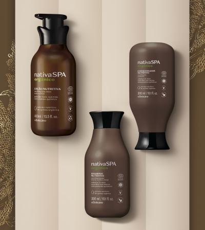 Empresa lança primeira linha de produtos orgânicos certificados de uma grande empresa brasileira de beleza
