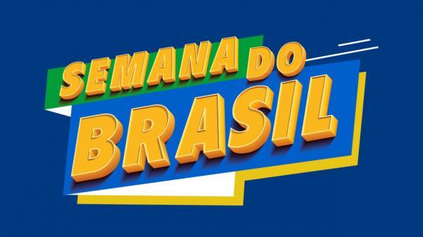 Semana Brasil 2021 começa nesta sexta (3) com descontos de até 70%