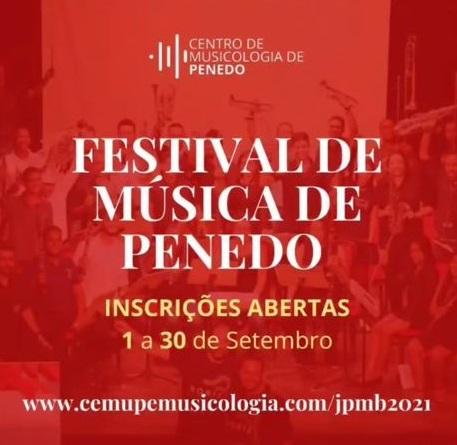 """""""Festival de Música de Penedo� contará com concertos, cursos e oficinas"""