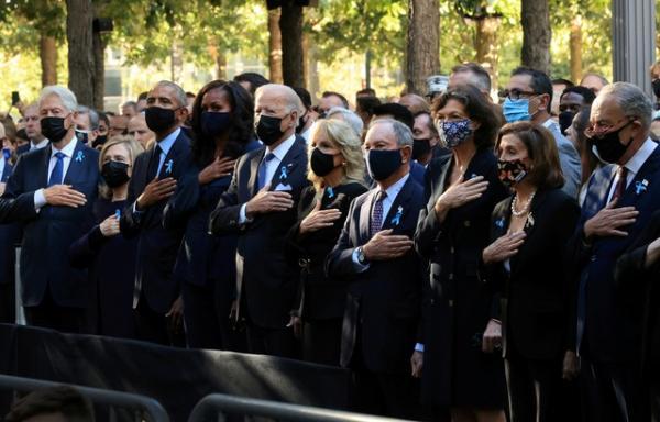 Homenagens pelo 11 de setembro são realizadas no Marco Zero, onde eram as torres