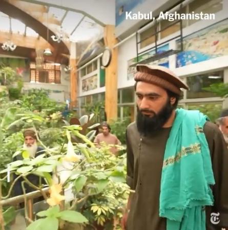 Jornal dos EUA mostra vídeo do grupo em mansão de ex-vice-presidente afegão