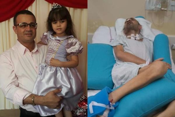 Família de santanense com síndrome de Guillan-Barré faz vaquinha para pagar tratamento