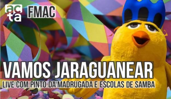 Pinto da Madrugada faz prévia de carnaval em Live transmitida pelo Acta